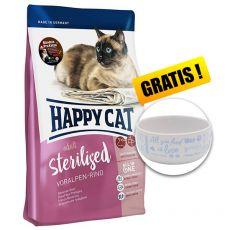 Happy Cat Sterilised Voralpen Rind / Hovädzie 4 kg