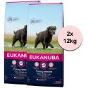 Eukanuba Caring Senior Large Breed 2 x 12 kg