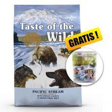 TASTE OF THE WILD Pacific Stream Canine 18,14 kg + DARČEK