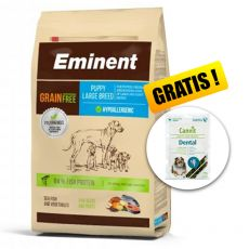 EMINENT Grain Free Puppy Large Breed 12 kg + DARČEK