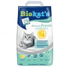 Biokat's Bianco Fresh Hygiene Control podstielka 5 kg