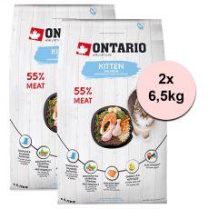 Ontario Kitten Salmon 2 x 6,5 kg