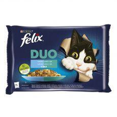 Kapsičky FELIX DUO - lahodný výber z rýb 4 x 85 g