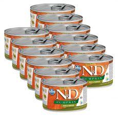 Farmina N&D dog Duck & Pumpkin konzerva 12 x 140 g