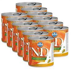 Farmina N&D dog Quail & Pumpkin konzerva 12 x 285 g