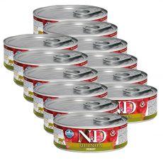 Farmina N&D cat Quinoa Urinary konzerva 12 x 80 g