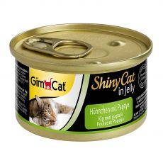 GimCat ShinyCat kura + papája 70 g