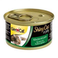 GimCat ShinyCat kura + jahňa 70 g