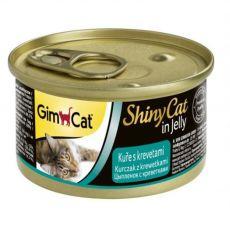 GimCat ShinyCat kura + krevety 70 g