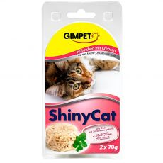GimCat ShinyCat kura + krab 2 x 70 g