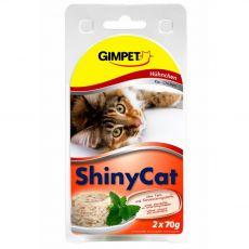 GimCat ShinyCat kura 2 x 70 g
