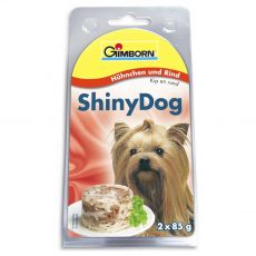 GimBorn ShinyDog kura + hovädzie 2 x 85 g