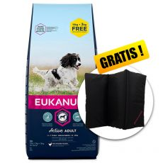 EUKANUBA ADULT MEDIUM Breed 15kg + 3kg ZDARMA + DARČEK