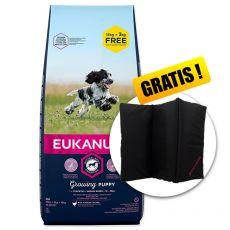EUKANUBA PUPPY Medium Breed 15kg + 3kg ZDARMA + DARČEK