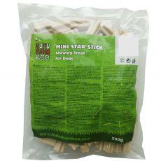 HUHU Bamboo hviezdicové tyčinky mini 500 g
