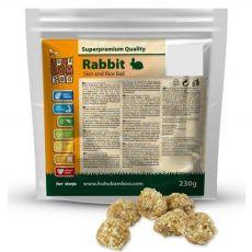 HUHU Bamboo guľôčky z králičej kože s ryžou 230 g