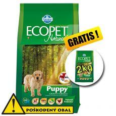Farmina MO P ECOPET N dog PUPPY mini 12 kg + 2 kg GRATIS- POŠKODENÝ OBAL