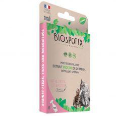 BIOGANCE Biospotix Cat spot-on s repelentným účinkom 5 x 1 ml