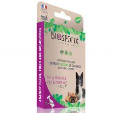 BIOGANCE Biospotix Dog spot-on S-M s repelentným účinkom 5 x 1 ml (do 20 kg)