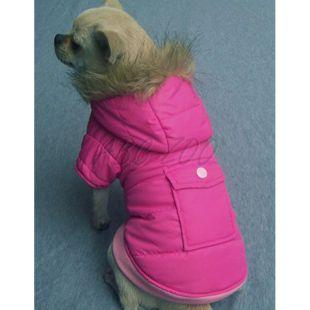 Bundička pre psy - ružová, XXL