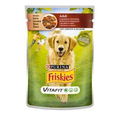 FRISKIES Adult VitaFit kapsička s jahňacím a mrkvou v šťave 100 g
