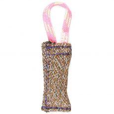 Ringový pešek s nylonovým pútkom JULIUS-K9, 10 cm