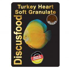 Discusfood Turkey Heart Soft Granulate 1,5 mm 230 g