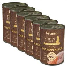 Fitmin Purity Puppy Chicken & Salmon 6 x 400 g
