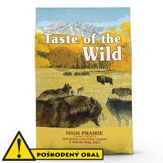 TASTE OF THE WILD High Prairie Canine 18,14 kg- POŠKODENÝ OBAL