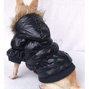 Vetrovka pre psa - pérová, čierna, XXL