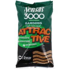 Krmivo 3000 Attractive Gardon (plotica) 1kg