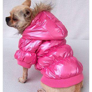 Vetrovka pre psa - pérová, ružová, L