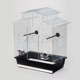 Klietka pre papagaje IZA II chrom - 51 x 30 x 60,5 cm
