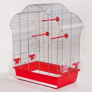 Klietka pre papagaje - LAURA III chrom - 60,5 x 34 x 71,5 cm