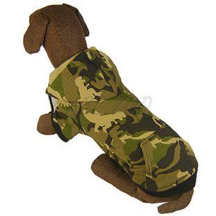 Mikina pre veľkého psa - MASKÁČ s kapucňou L-XS