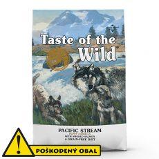 TASTE OF THE WILD Pacific Stream Puppy 12,2 kg - POŠKODENÝ OBAL