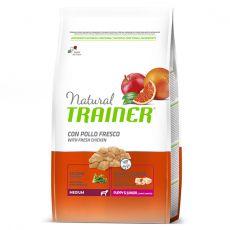 Trainer Natural Medium Puppy & Junior fresh chicken 12 kg - POŠKODENÝ OBAL