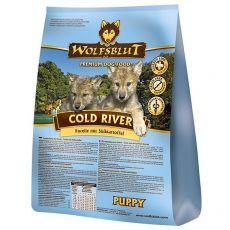 WOLFSBLUT Cold River Puppy 15 kg - POŠKODENÝ OBAL