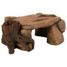 Dekorácia - Skalná Plošina s koreňom