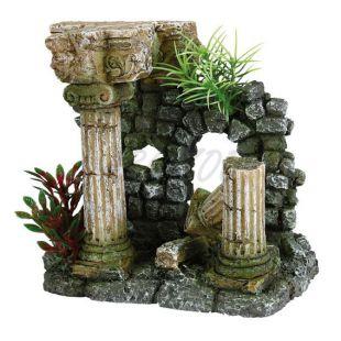 Skrášľujúca dekorácia rímska zrúcanina