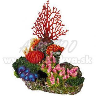 Dekorácia do akvária korálový útes