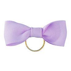 Mašlička pre psa - fialová 5 cm