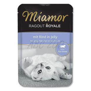 MIAMOR Ragout Kitten hovädzia kapsička 100 g
