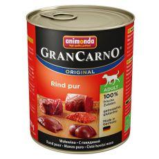 Konzerva GranCarno Fleisch Adult hovädzie mäso - 800 g