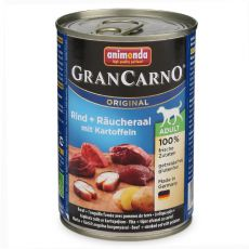 Konzerva GranCarno Fleisch Adult údený úhor+zemiaky- 400g