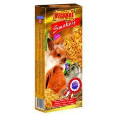 Vitapol Smakers Medové tyčinky pre hlodavce 90g