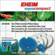 Eheim Aquacompact - sada filtračných vložiek