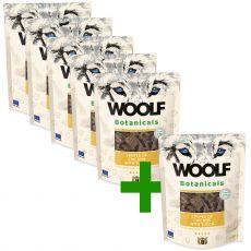 Woolf Botanicals Chicken stripes with yucca 80 g 5+1 GRÁTIS