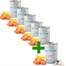 NUEVO Dog Sensitive FISH 375 g 5+1 GRÁTIS