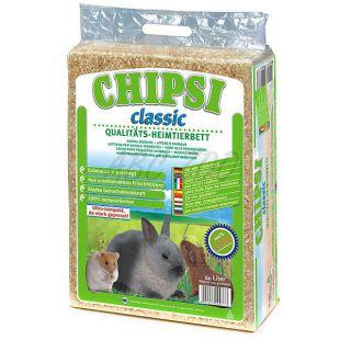CHIPSI Classic - Hoblinová podstieľka pre hlodavce 60L